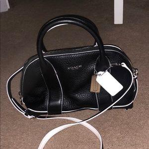 Like new! Black Coach purse